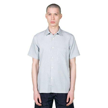 Native North Striped Bureau Shirt - Blue