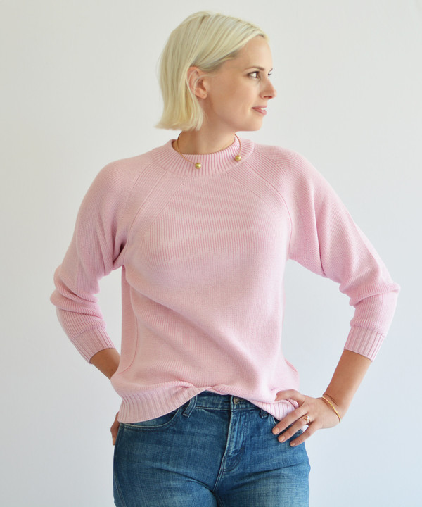 Diarte Olive Exclusive Pink Jasper Sweater