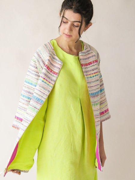 Erica Tanov pastis coat - tuloni tapestry