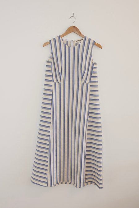 Caron Callahan Margeaux Dress - Blue Shadow