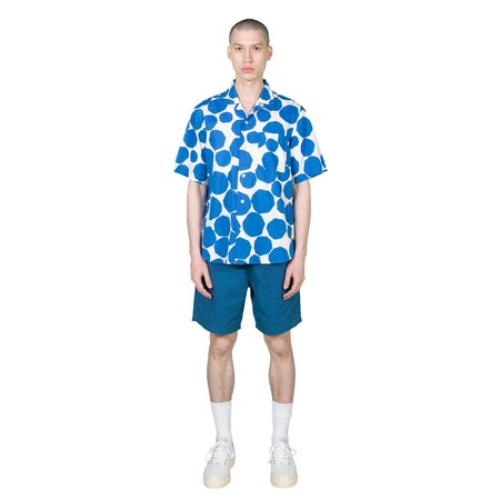 Garbstore Slacker Shirt - White & Blue