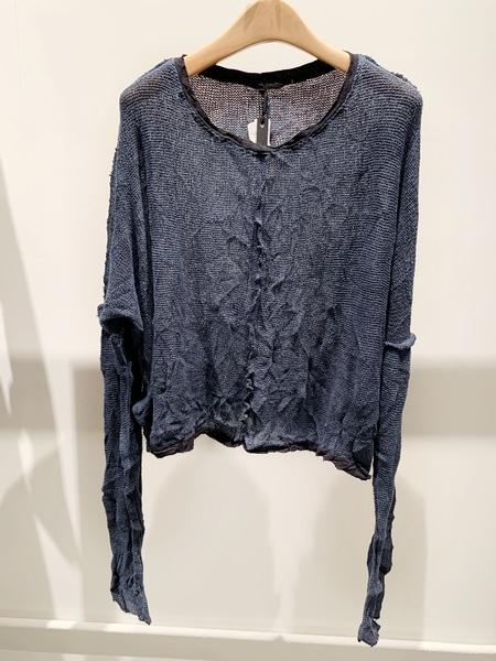 Umit Unal cotton long sleeve sweater