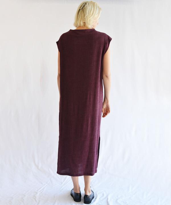 Hai Wine Jubba Dress