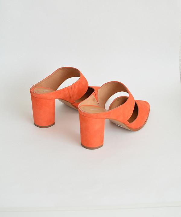 Intentionally Blank Sunset Orange Missy Mule