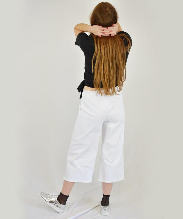 Lacausa Denim Crop Pants