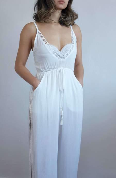 Beachgold Bali Kali jumpsuit - White