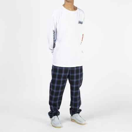 Born x Raised Chrome Thermal sweater - White