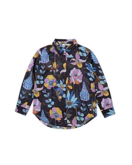 Wemoto Camisa Aimee Shirt - Black/Multicolor