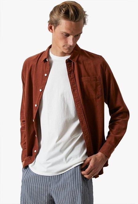 Banks Journal Roy Long Sleeve Shirt - Sierra