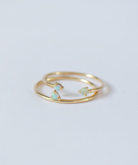 Wwake Two Step Ring