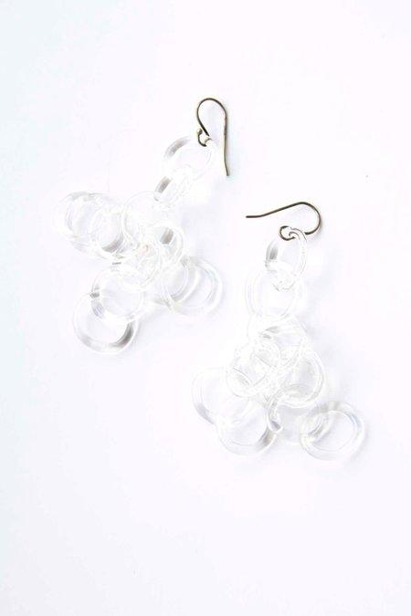 Jane D'Arensbourg Chandelier Earrings - Clear