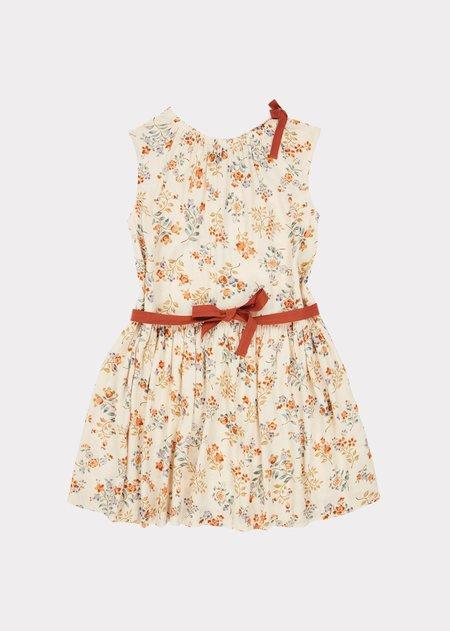 Kids Caramel Notting Hill Dress - Floating Bouquet