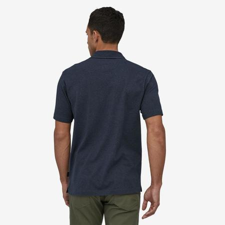 Patagonia Organic Cotton Lightweight Polo - Pigeon Blue