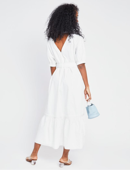 CAARA Lombardy Dress - white