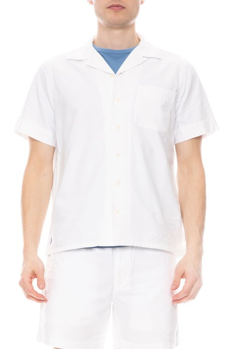 Polo Ralph Lauren x Ron Herman Exclusive Andy Camp Shirt - White