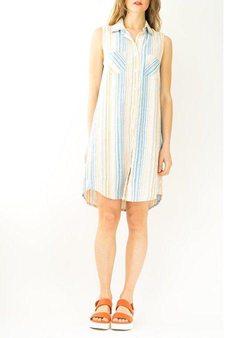 Vintage Backtalk PDX Striped Dress