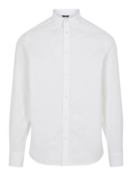 J Lindeberg Daniel BD Stretch LS Oxford Shirt - White