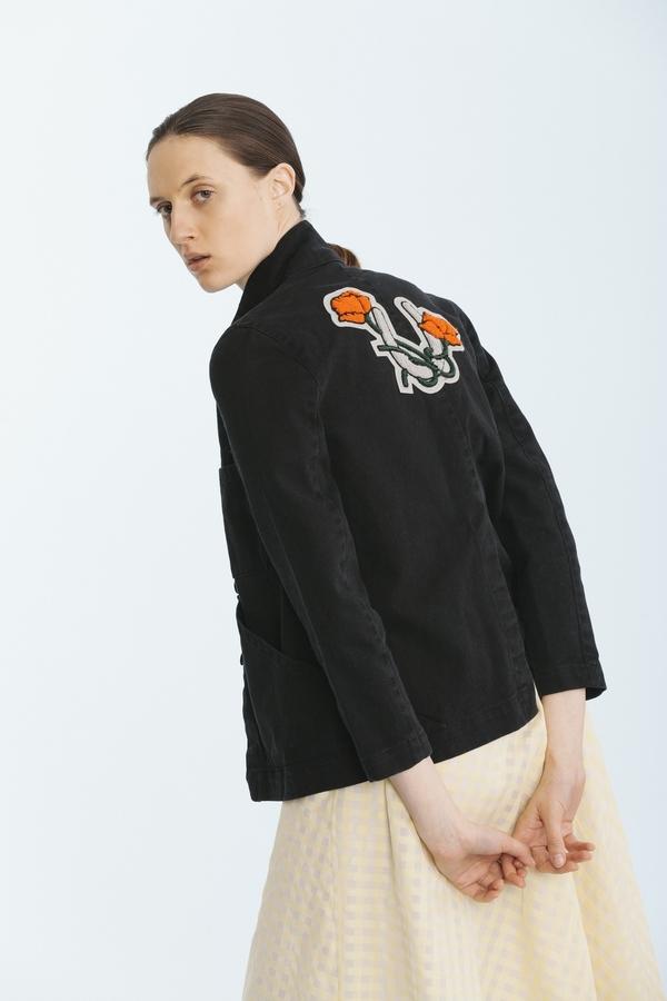 Carleen Triangle Pocket Jacket Black