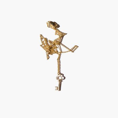 Kindred Black The Unlocked Door chain - 14k gold