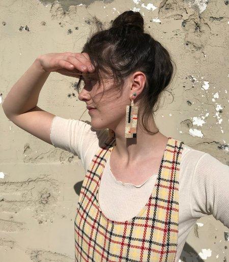 Salihah Moore Poet Earrings / Multi