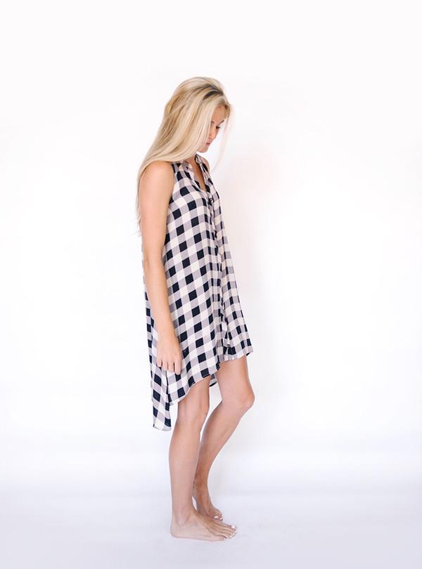 Jodifl Checkered Tunic