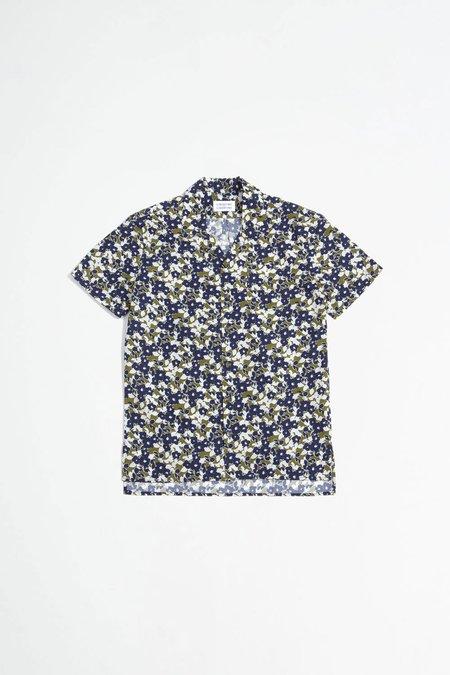 Libertine Libertine Cave Short Sleeve shirt - white flower