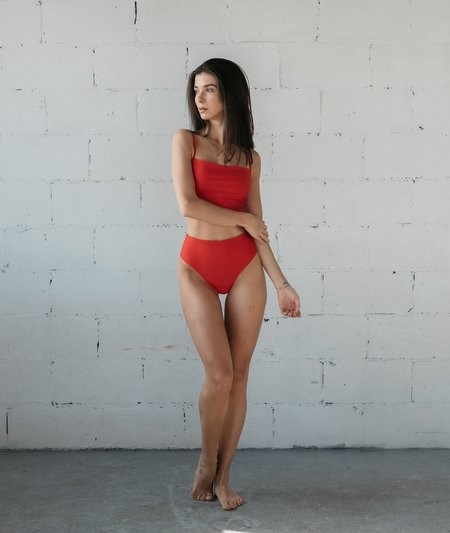 The Saltwater Collective Bettina Bottom - Red