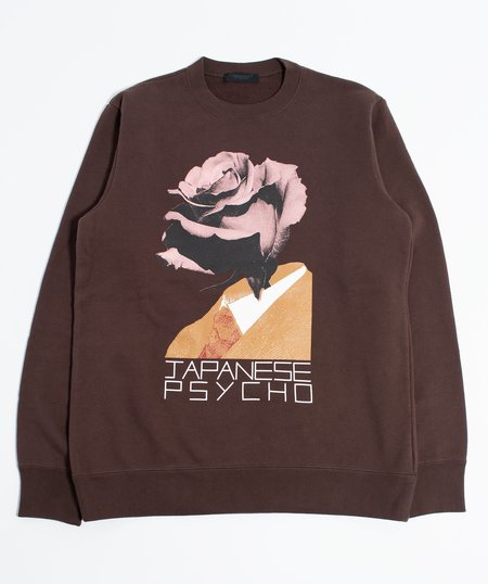 UNDERCOVER Japanese Psycho Sweat Shirt - Brown
