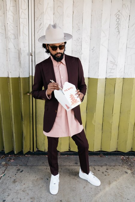Dushyant Asthana The Kameez Tunic - Cameo Pink