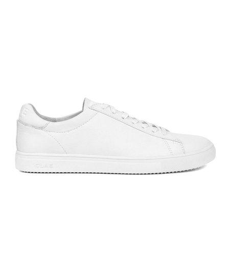 Clae Bradley Leather Sneaker Triple White