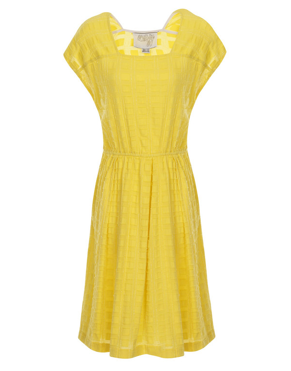 Ace & Jig - Yellow 'Terrace' Dress - Aura