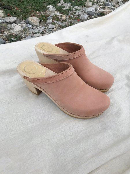 No.6 Old School High Clog - Pink Sand