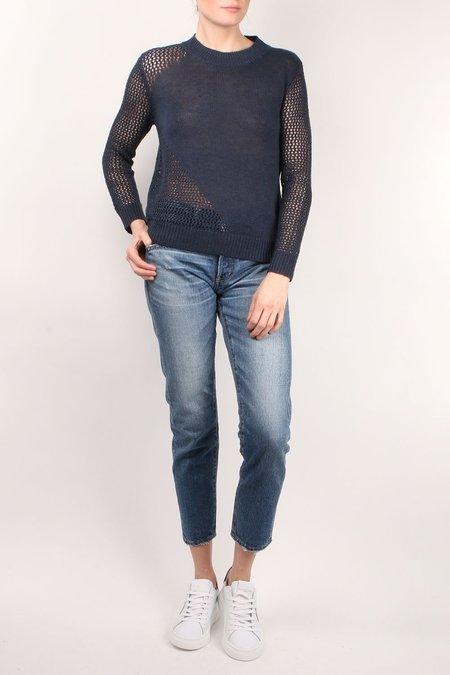Parrish Rachel Blue & Black Knit