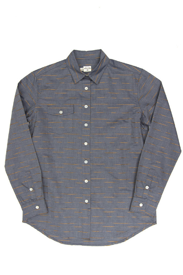 Bird Chambray Stripe
