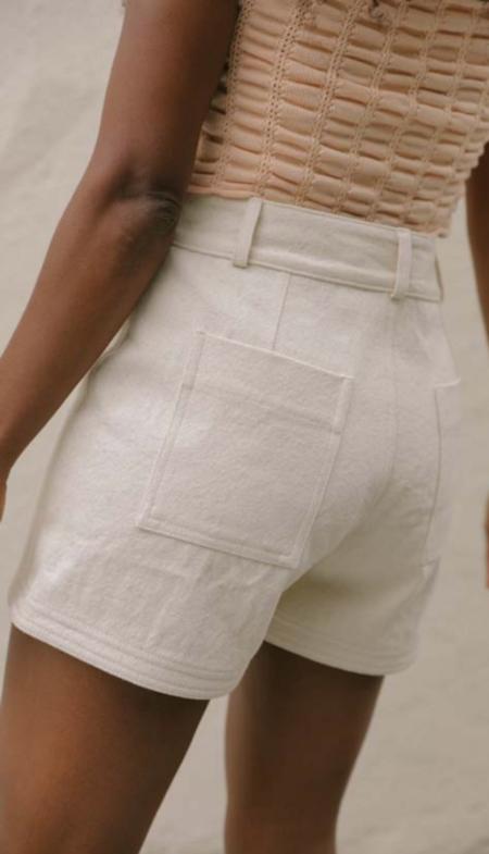 Kordal Dulce Shorts - Natural