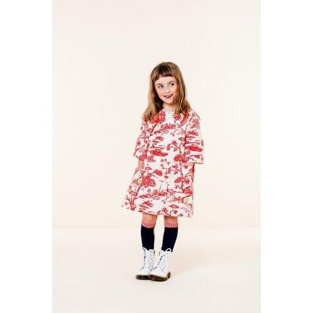 kids oilily douwe dress - red