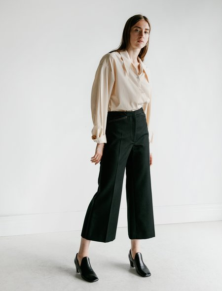 Lemaire Flared Pants - Black