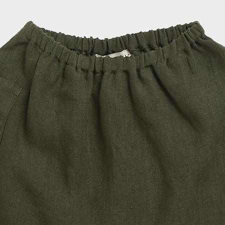 kids Caramel Aldgate Baby Trouser - Army Green