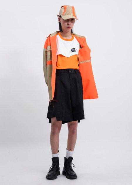Feng Chen Wang Layered T Shirt - Orange