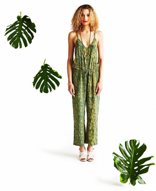 Sample Sale / Irene Jumpsuit, green