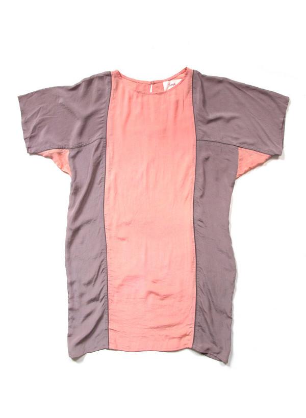 Sample Sale / Rad Dress, color block