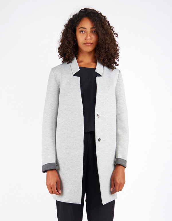 Minimum Berthine Jacket Light Grey
