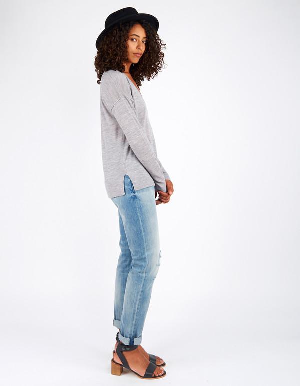 Minimum Sira Knit Light Grey