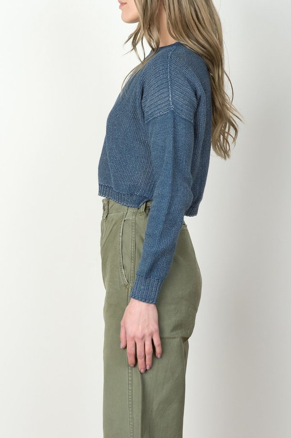 Micaela Greg Crop Sweater