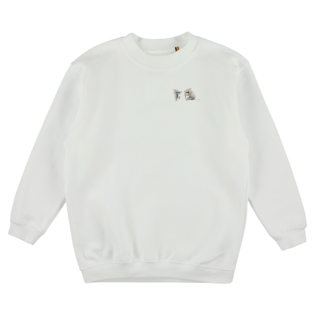 caroline bosmans destroyed with love sweatshirt