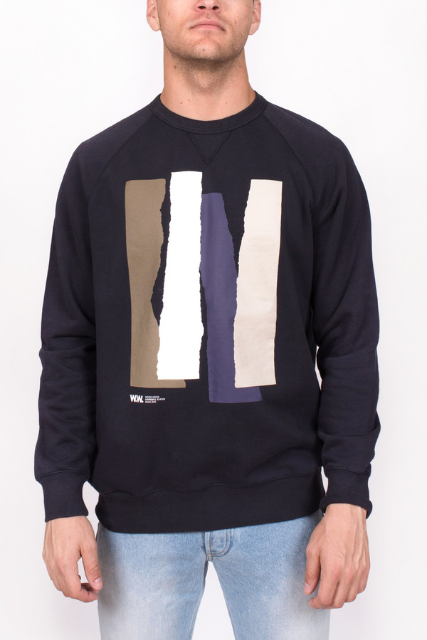 Men's Wood Wood Hester Sweatshirt Painted