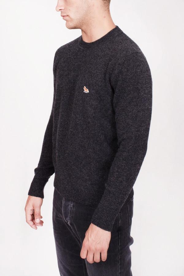 Men's Maison Kitsune Lambswool R Neck Pullover