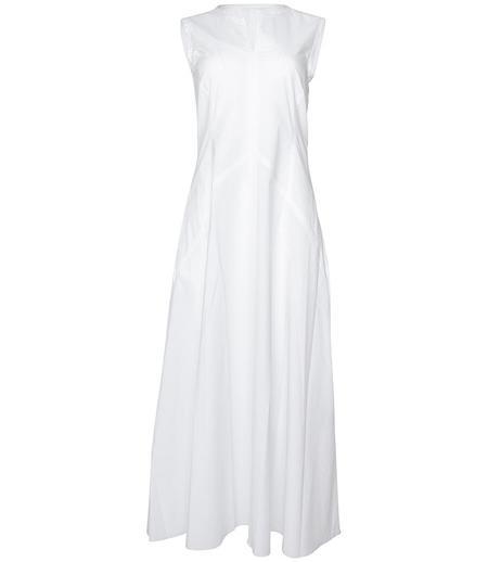Caliban Sleeveless Dress - White
