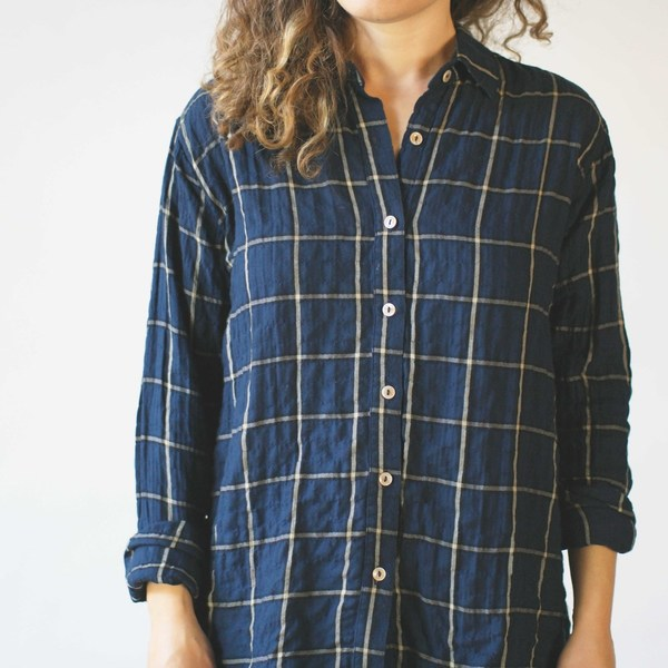 California Tailor Shirt No. 2 Del Mar Plaid