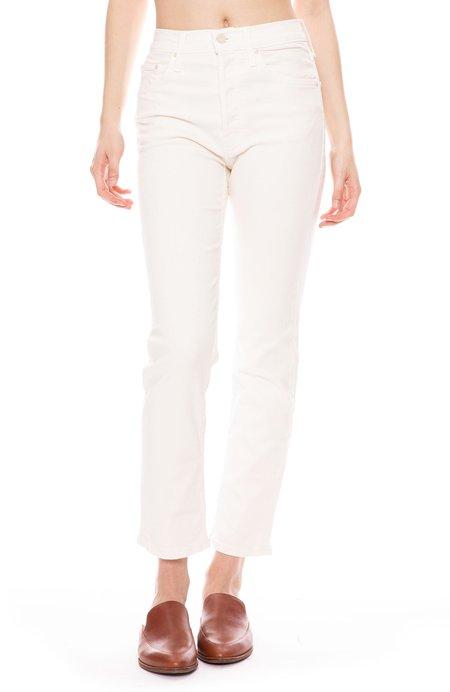 Mother Denim The Tomcat Ankle Jean - Cream Puffs